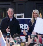 Kelly Loeffler, David Perdue och Ivanka Trump. John Bazemore / TT NYHETSBYRÅN