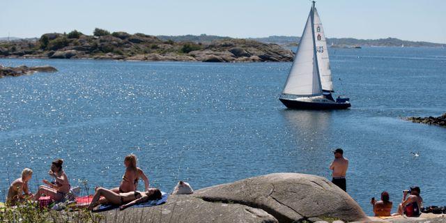 Arkivbild: Badare vid Saltholmen i Göteborg Adam Ihse/TT / TT NYHETSBYRÅN