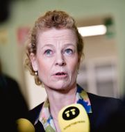 Postnords vd Annemarie Gardshol. Stina Stjernkvist/TT / TT NYHETSBYRÅN