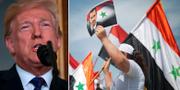 Donald Trump. Anhängare till den syriske diktatorn Bashar al-Assad.  TT