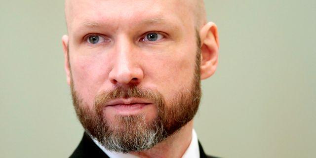 Anders Behring Breivik.  Lise Åserud / TT NYHETSBYRÅN