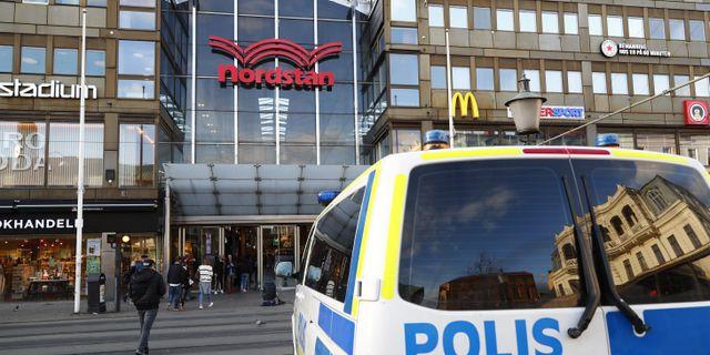 Nordstan i Göteborg. Arkivbild. Thomas Johansson/TT / TT NYHETSBYRÅN