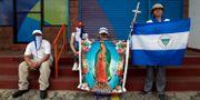Demonstranter i Nicaragua. JORGE CABRERA / TT NYHETSBYRÅN