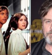 Mark Hamill och Carrie Fisher som Luke och Leia.  TT