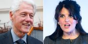 Bill Clinton och Monica Lewinsky. TT
