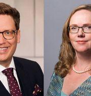 Nicolas Hummel och Eva Häussling.