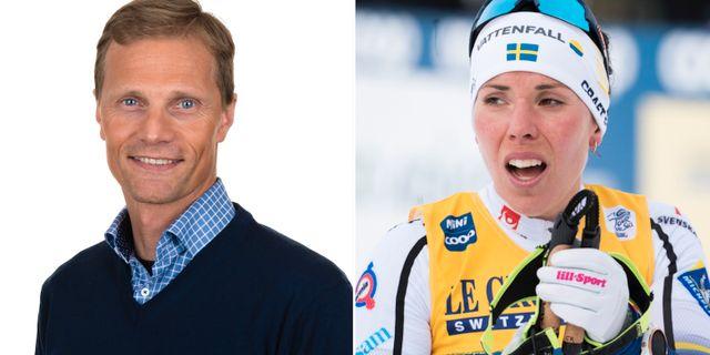 Daniel Fåhraeus/Charlotte Kalla. Pressbild/TT