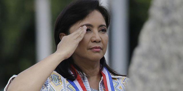 Filippinernas vice president Leni Robredo. TT.
