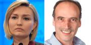 Ebba Busch Thor (KD) och Behcet Barsom (KD). TT, Kristdemokraterna i Örebro.
