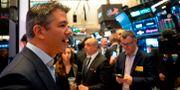 Arkivbild: Travis Kalanick var med på börsgolvet när Uber gjorde handelsdebut på New York-börsen i maj 2019.  JOHANNES EISELE / AFP