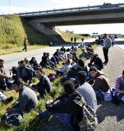 Den danska asylprocessen kan flytta utomlands.  Ernst van Norde / TT / NTB Scanpix