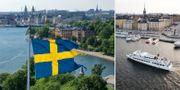 Vyer över Stockholm.  TT