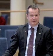 Energi- och digitaliseringsminister Anders Ygeman (S).  Riksdagen