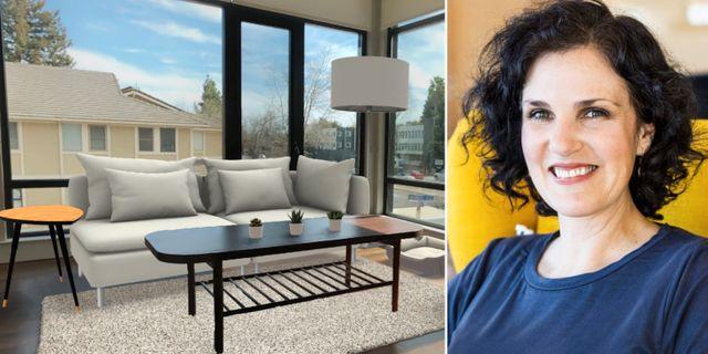 Illustation: Möblerat rum. Pressbild: Barbara Martin Coppola. Ikea