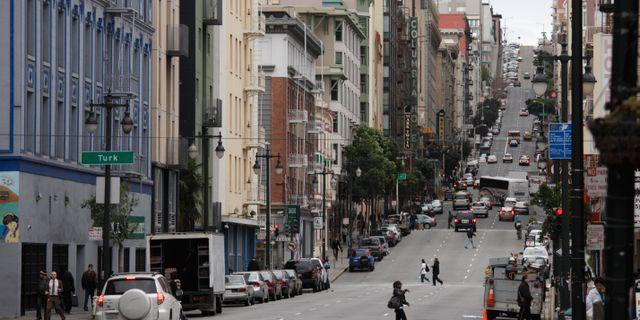 San Francisco.  Eric Risberg / TT NYHETSBYRÅN/ NTB Scanpix