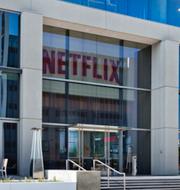 Netflix kontor och Turkiets president Erdogan.  TT