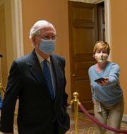 Arkivbild: Senatens majoritetsledare Mitch McConnell. Susan Walsh / TT NYHETSBYRÅN