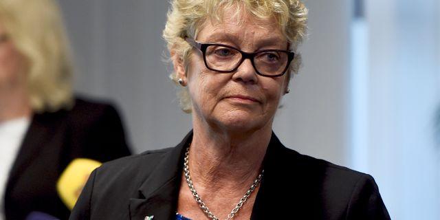 Katarina Johansson, ordförande för patientorganisationen Nätverket mot cancer. Stina Stjernkvist/TT / TT NYHETSBYRÅN