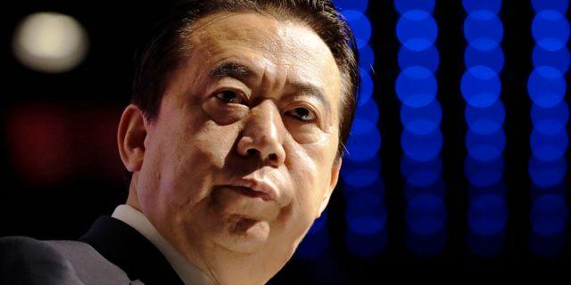 Den tidigare Interpolchefen Meng Hongwei.  Arkivbild.  Wong Maye-E / TT NYHETSBYRÅN
