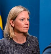 Finansminister Magdalena Andersson (S). MAXIM THORE / BILDBYRÅN