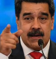 Maduro/Covidavdelning i Venezuela TT
