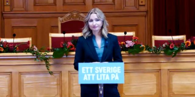 Ebba Busch Thor. Kristdemokraterna