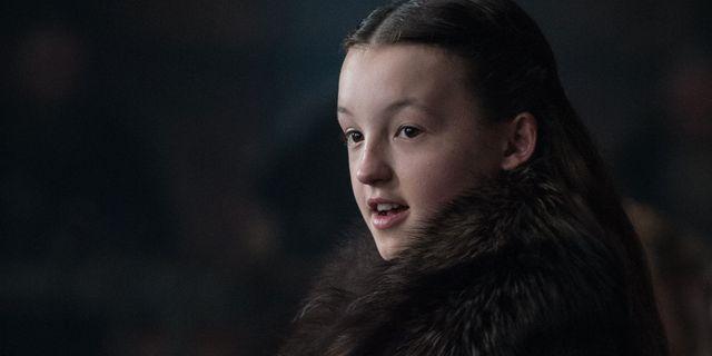 Bella Ramsey som Lyanna Mormont. HELEN SLOAN / HBO
