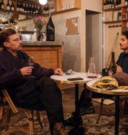 Remy Kaneko och Oliver Lomeli, ägare till vinbaren Chambre Noire. Lewis Joly / TT NYHETSBYRÅN