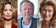 Lena Endre, Krister Henriksson och Maria Bonnevie TT