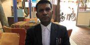 Sachin Verma, advokat till den man som nu dömts till döden. STAFF / TT NYHETSBYRÅN