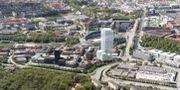 Citygate beräknas vara färdigbyggd 2022. Skanska