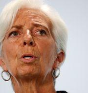 Christine Lagarde.  Hannibal Hanschke / TT NYHETSBYRÅN