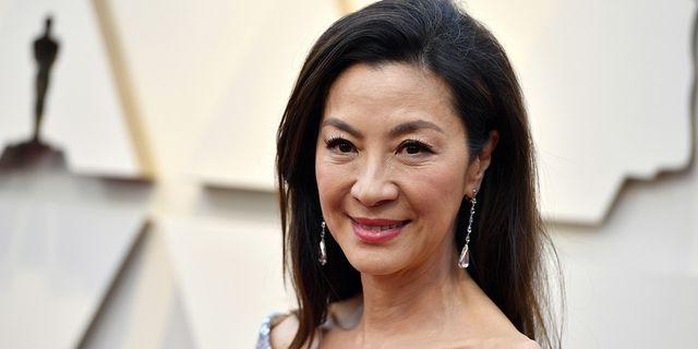 Michelle Yeoh är en av skådespelarna i Crazy Rich Asians.  TT
