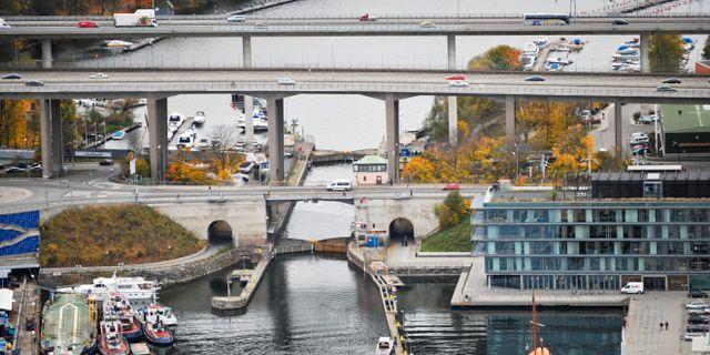 Arkivbild: Broarna som leder mot Södermalm vid Skanstull i Stockholm. Bertil Ericson / TT / TT NYHETSBYRÅN