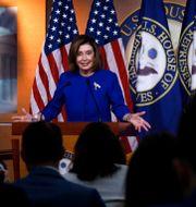 Nancy Pelosi, underhusets talman. Tom Brenner / TT NYHETSBYRÅN