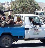 Huthirebeller i Jemen. STR / AFP