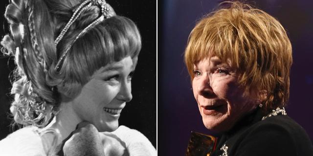 Shirley MacLaine cirka år 1967 och i januari 2019. TT
