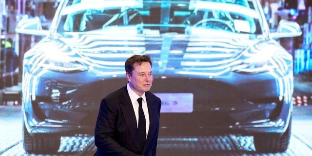 Elon Musk, vd på Tesla. Aly Song / TT NYHETSBYRÅN