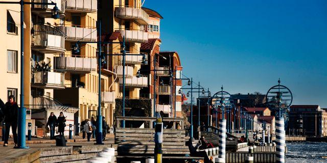Eriksberg på Hisingen. Arkivbild. ERIK ABEL / TT / TT NYHETSBYRÅN
