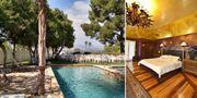 Upp till 16 gäster kan bo i Frank Sinatras gamla hus. Homeaway.se, PROPERTY ID P434834VB