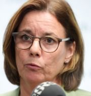Klimatminister Isabella Lövin (MP)  Amir Nabizadeh/TT / TT NYHETSBYRÅN