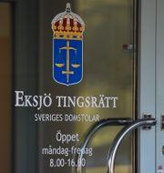 Eksjö tingsrätt.  Mikael Fritzon/TT / TT NYHETSBYRÅN