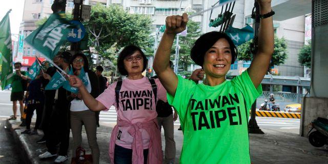 Kina stoppar fabrik efter protester