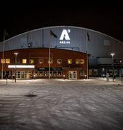 A3 Arena i Umeå efter ishockeymatchen i Hockeyallsvenskan mellan Björklöven och Mora. JOHAN LÖF / BILDBYRÅN