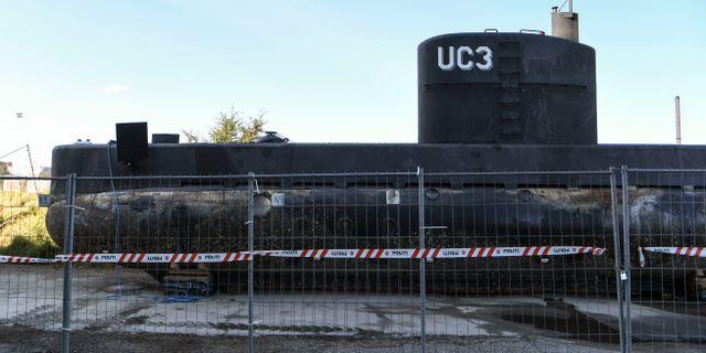 Madsens ubåt. Johan Nilsson/TT / TT NYHETSBYRÅN