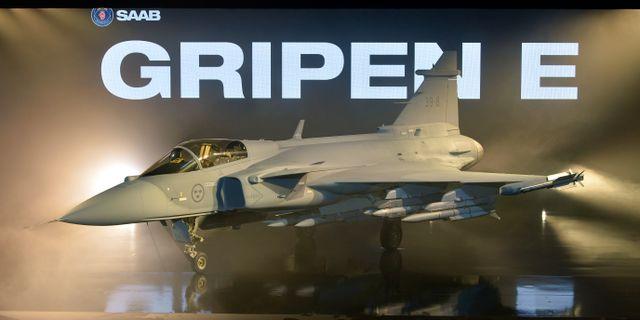 Gripen E, arkivbild. Anders Wiklund/TT / TT NYHETSBYRÅN