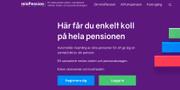 Startsida Min Pension