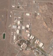 Kärnkraftsanläggningen Natanz.  Planet Labs Inc. / TT NYHETSBYRÅN