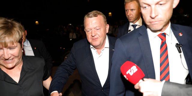 Lars Løkke Rasmussen. Arkivbild. Nikolai Linares / TT NYHETSBYRÅN