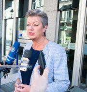 EU:s inrikeskommissionär Ylva Johansson.  Wiktor Nummelin/TT / TT NYHETSBYRÅN